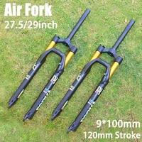 elyon mtb bicycle front fork 27 529er stroke 120mm damping remote suspension control bike parts exceeds sr sid epixon