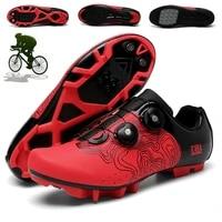 mtb cycling shoes men sapatilha ciclismos mtb professional mountain bicycle shoes road speeding bike shoes racing women sneakers