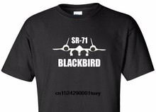 Summer Mens Print T-Shirt Sr-71 Blackbird T-Shirt Sr71 Air Force Military Usa Usaf Pilot Patriotic Tee Shirt