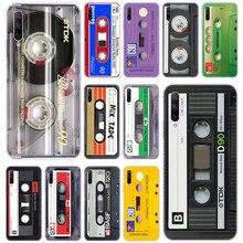 Funda clásica de silicona Cassette para Huawei Honor 20 20i 10i 10 9 8 Lite 9X 8X 8A 8S 7S 7A Pro View 20, funda de moda Play3