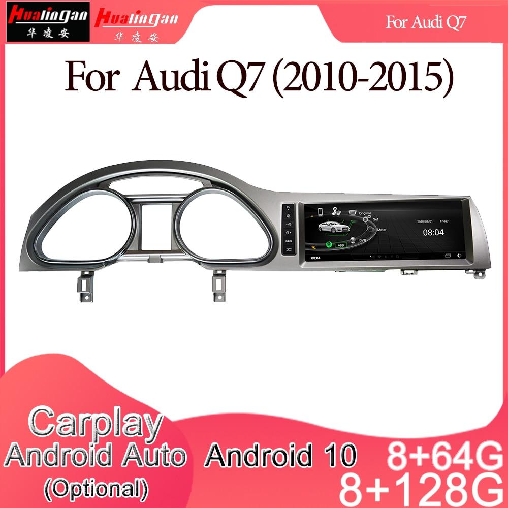Android 10 coche Multimedia DVD Radio Estéreo Player navegación GPS Carplay Auto...