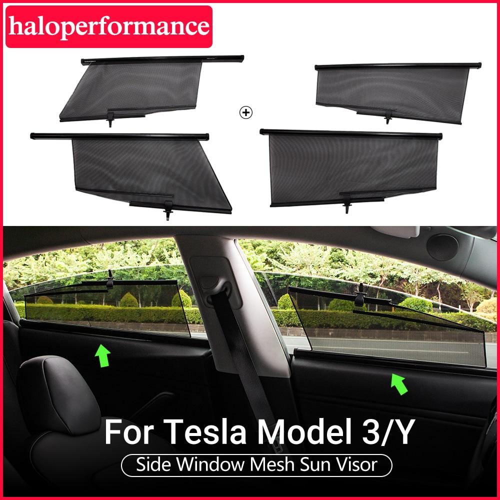 Model3 Tesla Car Sun Shade Window For Tesla Model 3 Accessories SunShade Drape Roller model 3 tesla model y model three 2020 New