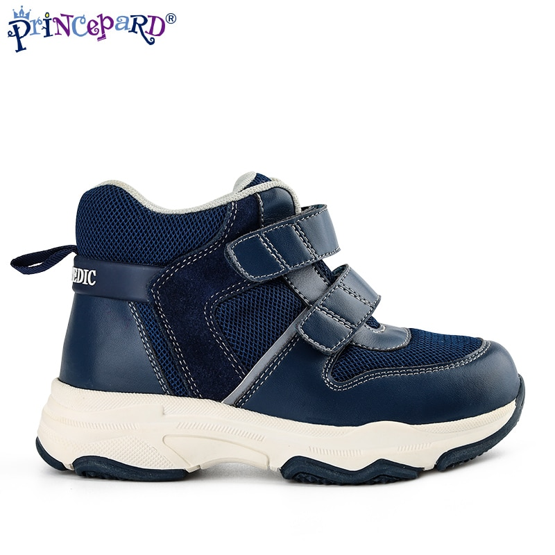 Princepard Wholesale Comfortable Children's Orthopedic Shoes Casual Shoes Orthopedic Kids Shoes For Ankle Support With Flat Feet enlarge