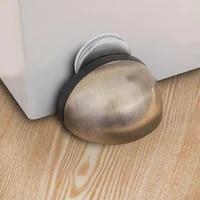 zollor stainless steel magnetic doorstop non punching sticker black door stopper hidden door holders catch floor stop door