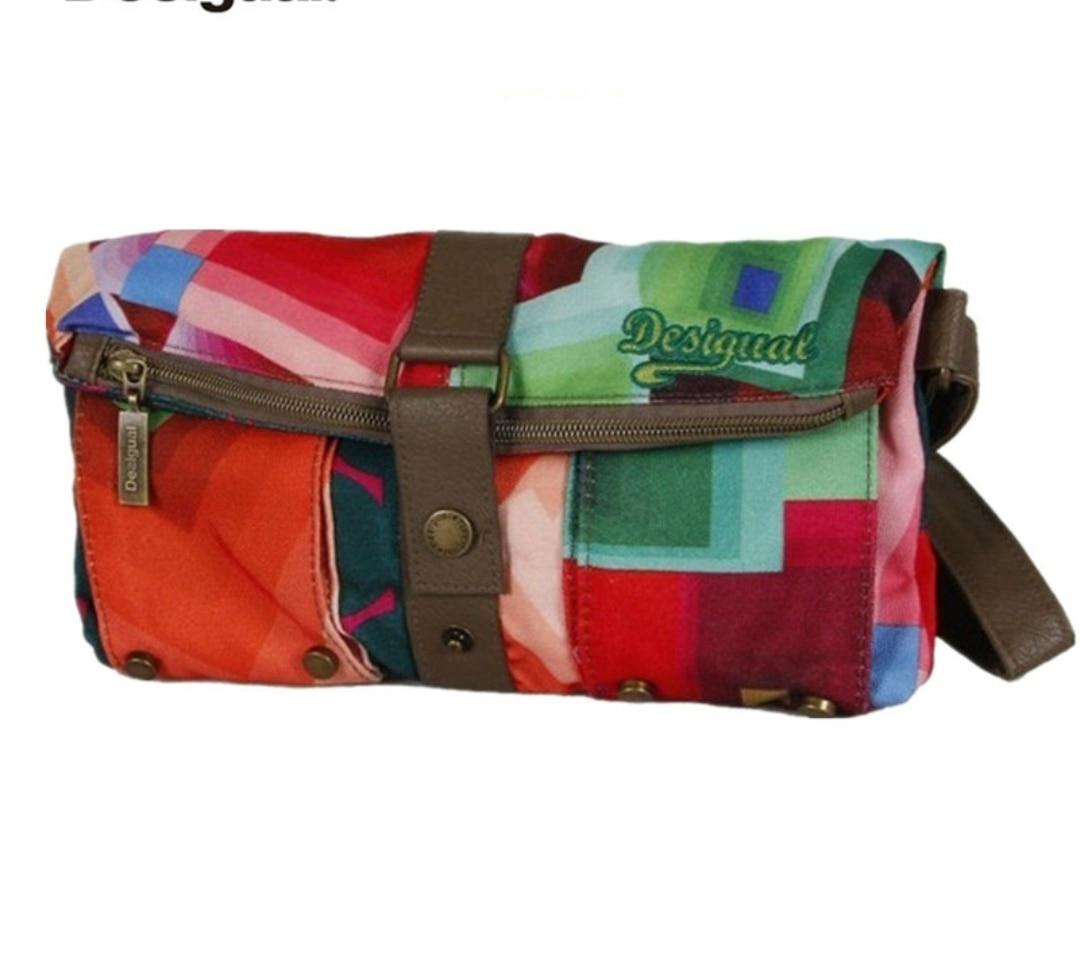 2021New foreign trade Spanish tide brand Desigual handbags fashion shoulder bag multi-compartment messenger bag all-match bag