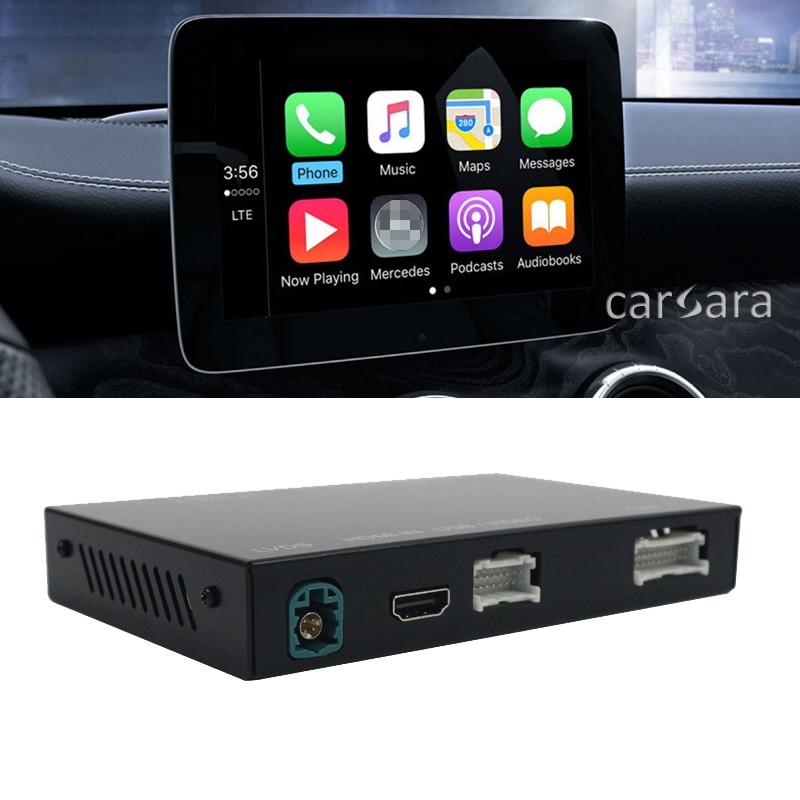 Car screen wireless carplay decoder box for W166 W176 W205 W212 W218 W246 W207 W463 C207 C117 R172 X156 X253 NTG5 android auto