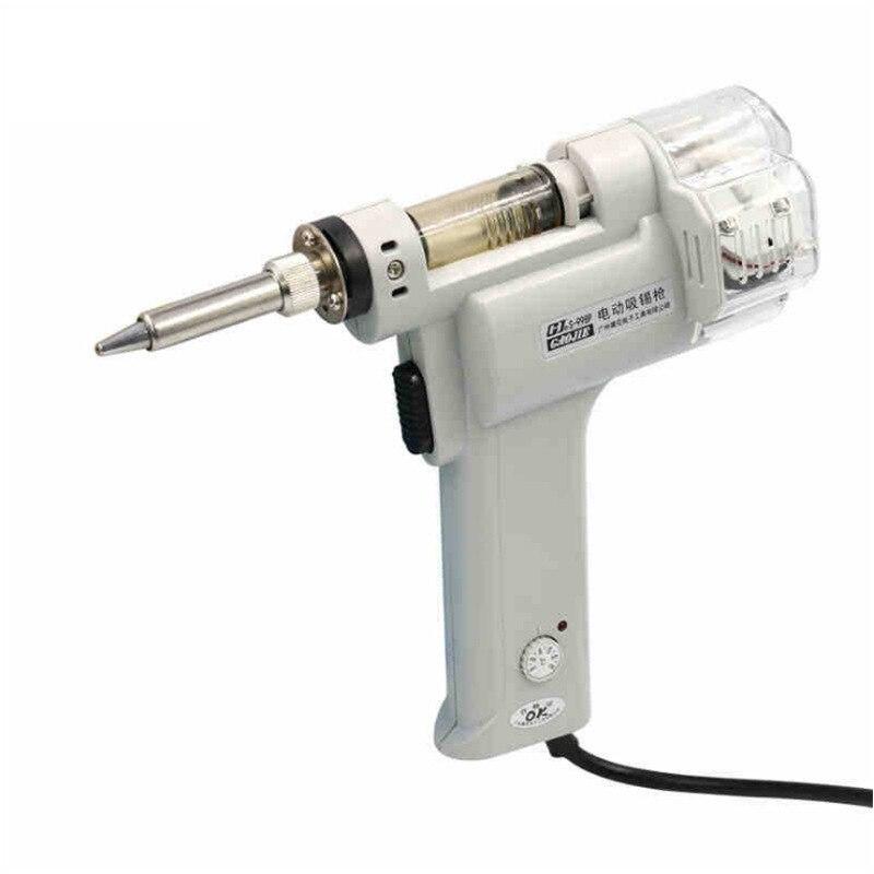100W Digital Electric Desoldering Pump Bga Desoldering Suction Vacuum Solder Sucker Gun 110V/220V