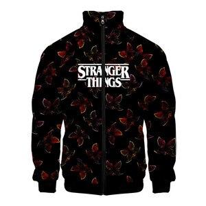 New 3D Printed Hoodie Men/Women/kid Stranger Things 3 Sweatshirts Tracksuit Hooded Stranger Things Hoodies Zipper Jacket