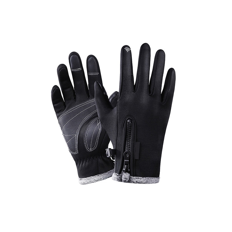 Full Finger Durable Cycling Gloves Waterproof Anti-Slip Breathable Touch Screen Fishing Pesca Fitness Carp