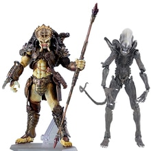 Takayuki Takeya Figma SP-108 Alien/SP-109 Predator 2 figura de acción PVC modelo de juguete coleccionable