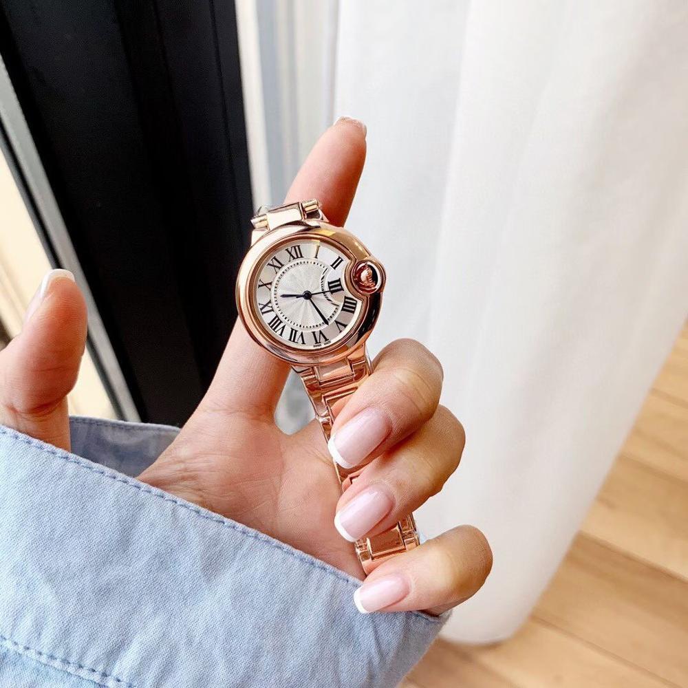 Reloj de pulsera ctr azul con globos dorados para hombre, esfera blanca con calendario de 33MM, reloj mecánico automático de acero inoxidable con hebilla de zafiro para hombre