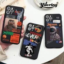 Funda de teléfono del universo de moda para iPhone 12 Pro Max Mini, 11 Pro, XR, XS MAX, 6, 6S, 7, 8 Plus, SE 2020, 12 estilos espaciales, cubierta suave