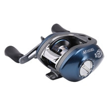 Blue Baitcasting Fishing Reel 6.3:1 For Bass In Ocean Environment 10+1BB Outdoor Sports Left Right H