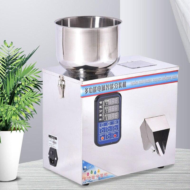 Automático de alimentos de pesaje máquina de embalaje de polvo granular té hardware materiales máquina de llenado