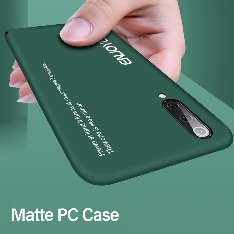 Ultra-thin Matte PC Phone Case For Xiaomi Mi 10 9 8 SE Lite T Pro Redmi Note 7 Shockproof Cover
