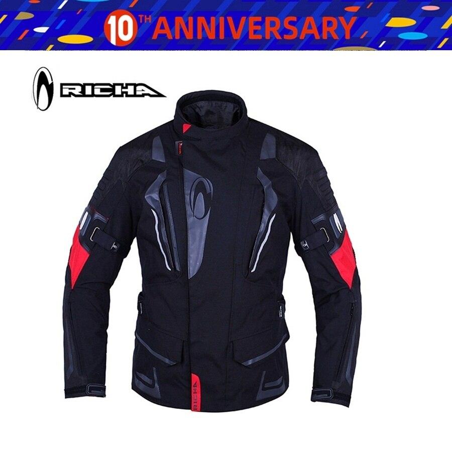 Réflecteur dhiver imperméable et chaud   1 pièce, veste pour moto en tissu Nylon pour moto avec 5 pièces, livraison gratuite