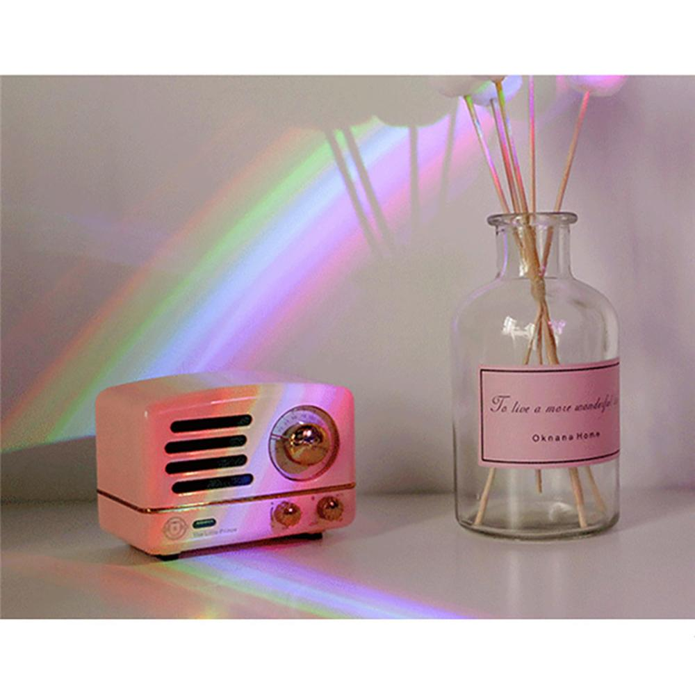 Novo escudo arco-íris lâmpada de projeção led céu usb carregamento luz da noite adequado para o quarto sala estar