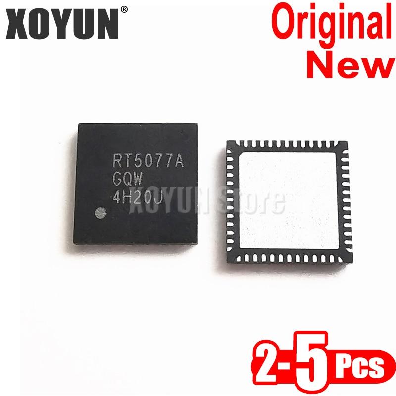 2-5Pcs 100% New RT5077A RT5077AGQW QFN-52