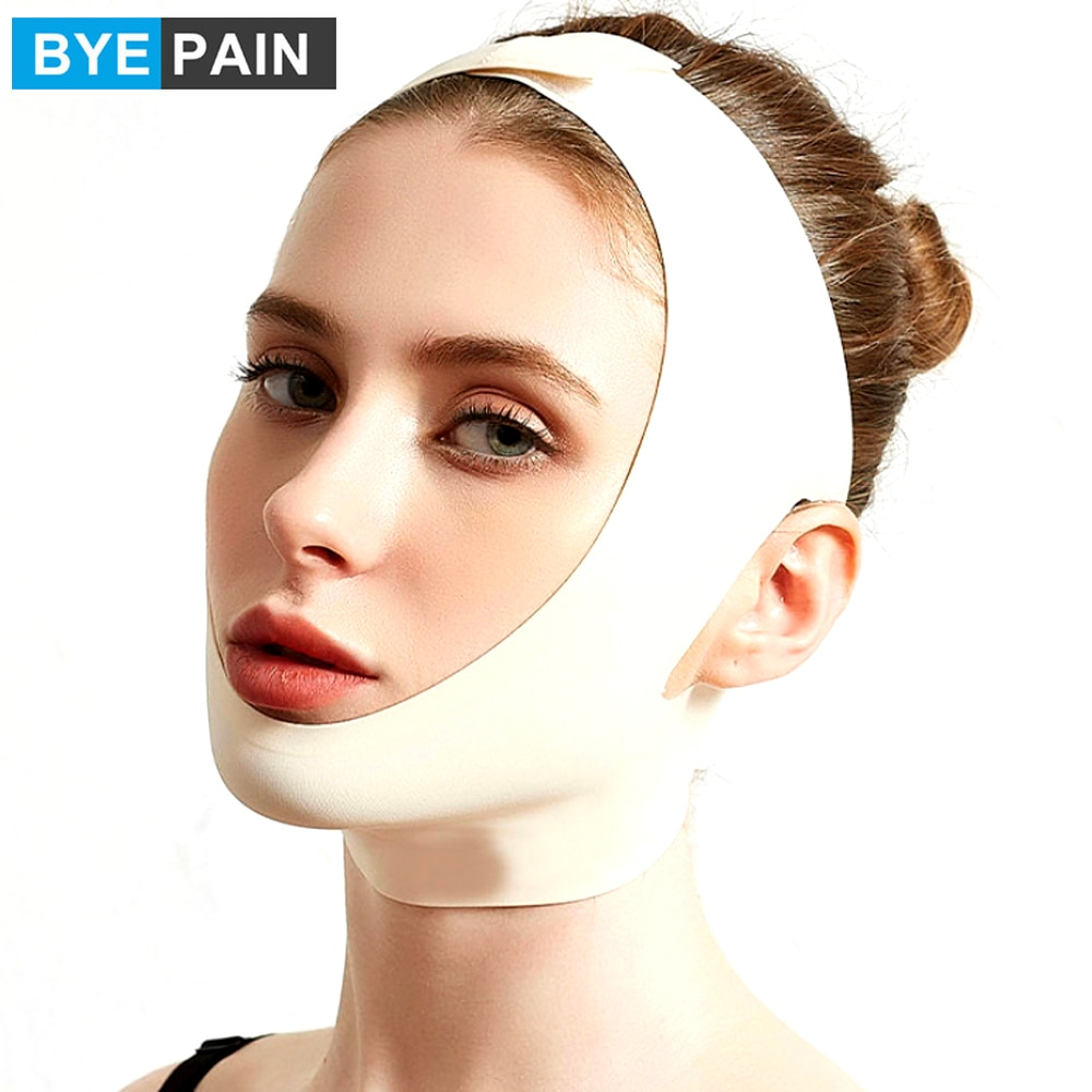 1Pcs V Line Shaping Face Masks, Anti-Aging and Anti-Wrinkle Band, Double Chin Reducer Strap, Slimming Firming Face Lift Sheet