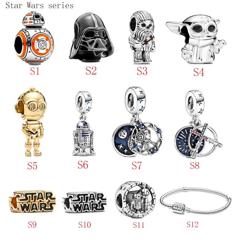 gran-oferta-100-de-plata-de-ley-925-starwars-serie-s1-s12-encantos-fit-original-pan-pulsera-para-mujer-regalo-de-la-joyeria
