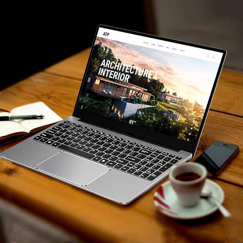 Low Price Notebook 15.6 inch computer 2G 4G 32GB 64GB Ultrabook Win10 Ultra Slim Laptops PC  1TB SSD