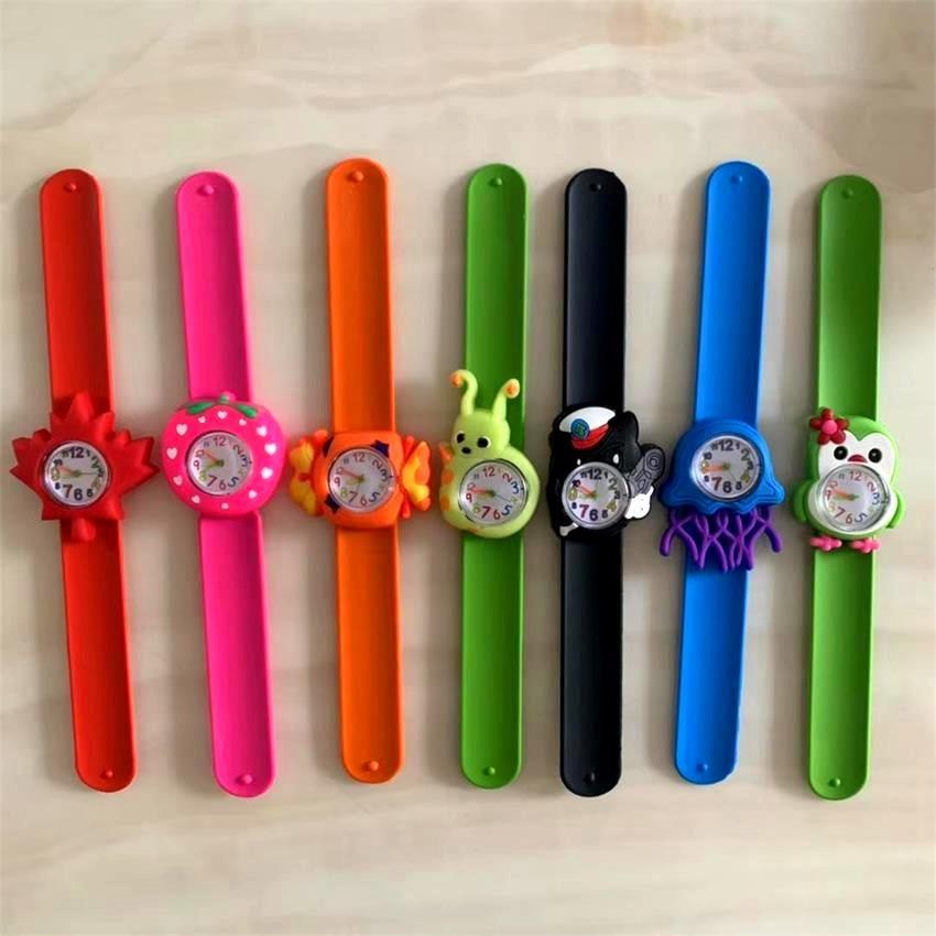 3D Cartoon Watch Animal Cute Children's watch Clock Baby Kid Quartz Wristwatches Student Silica