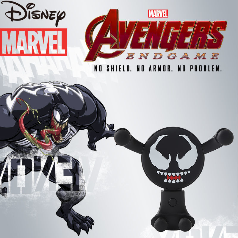 Disney Marvel Avengers Cartoon Car Air Conditioning Air Outlet Mobile Phone Navigation Multifunctional Gravity Support Frame enlarge
