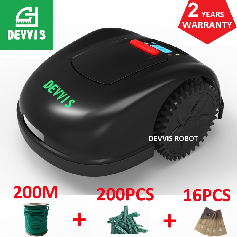 DEVVIS Graden Weeding Robot E1600T With 13.2Ah Lithium Battery For Big Lawn ,Working Capacity 3600m2 ,2 Year Warranty