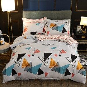 Comforter Bedding Set 4pcs Bed Linen Set Duvet Cover Set Quilt Cover Bed Clothes Geometric patterns Home Decor Textile