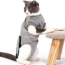 Gatos E-collar prevenir lamiendo las heridas arañazos de Multi-funcional de recuperación traje abrigos después de la cirugía