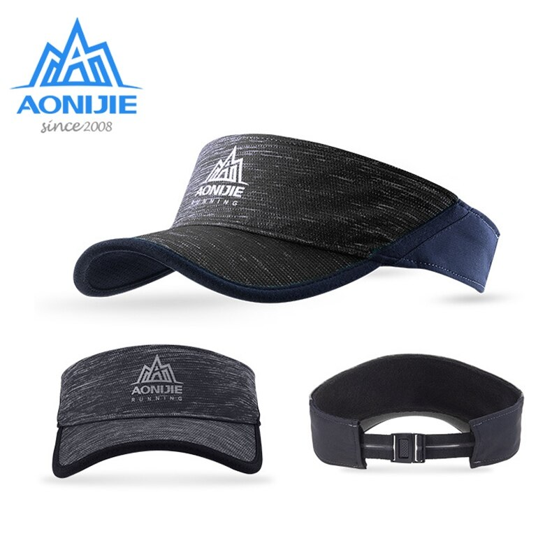 AONIJIE casquette de course en plein air E4080 casquette de visière Sport léger Marathon séchage rapide Camping randonnée casquettes anti-uv