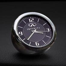 1X Auto Uhr Logo Zubehör Dashboard interior Dekoration Für Infiniti QX30 JX35 QX80 FX G M EX Q50 Q60 Q70 QX50 QX60 QX70 Q30