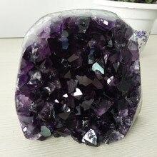 Hohe qualität Uruguay stein amethyst geode kristall quarz cluster wohnkultur display amethyste pierre naturelle