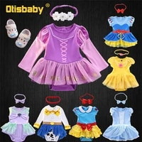 winter cotton babies jumpsuit kids baby girl clothes bodysuit clothes for newborns christmas birthday party body clothing sets