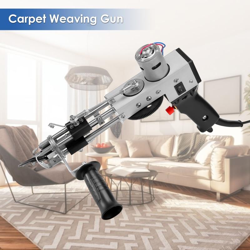 Electric Carpet Tufting Gun Carpet Weaving Machine Cut Pile And Loop Pile Knitting Machine Industrial Embroidery Machine