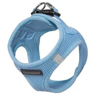 pet dog harness for small medium dogs breathable mesh chest vest adjustable walking pet accessories outdoor walking dog supplies
