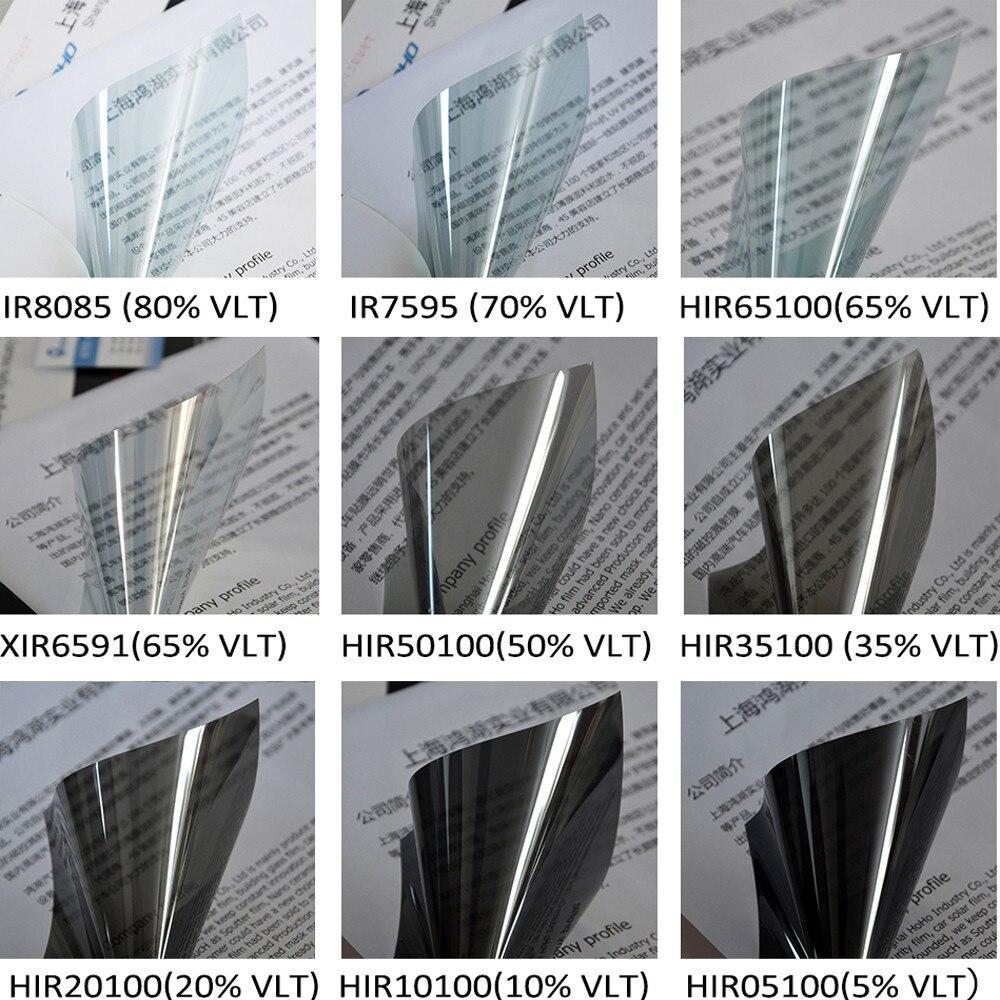 SUNICE 152X100CM, película de cristal para parabrisas trasero/frontal, 2mil de espesor, negro, gris, azul, privacidad, Nano tinte, Reduce las láminas de Sol para coche