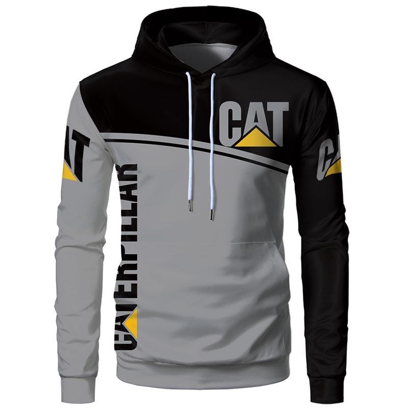 New Extreme sweatshirt men's top 3D team printing hoodie sports brand cat street trend fashion long sleeve hooded outwears