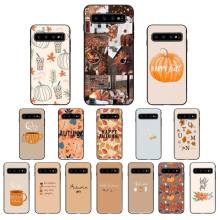 Yinuoda Pumpkin happy autumn fall Phone Case for Samsung Galaxy S6 S6edge Plus S7 S7edge S8 S9 S10 P