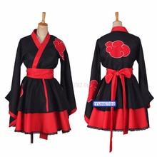 8 stili giapponesi Dresses abiti Cosplay Costume Akatsuki Kimono Dress Uchiha Sasuke Lolita vestiti Suit C128K183