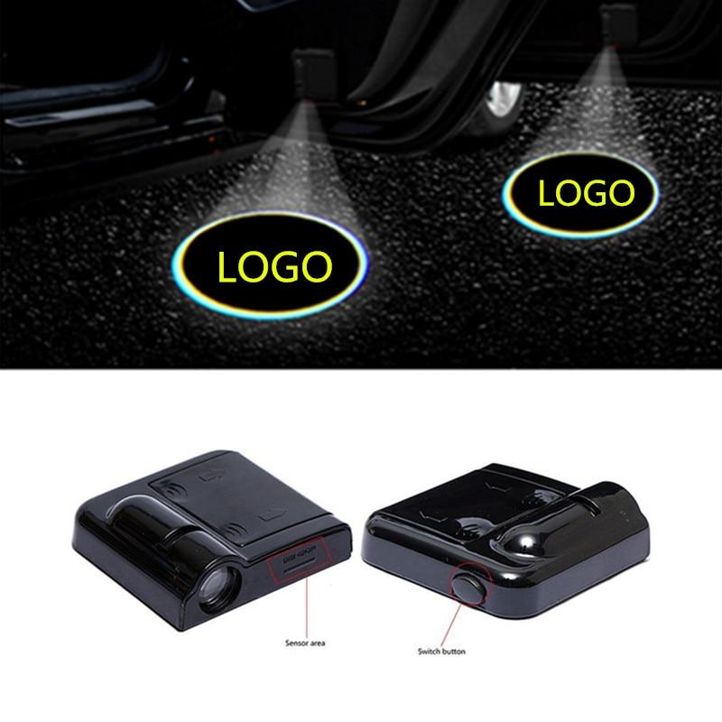 2X автомобиля светодиодный дверь шаг вежливости Добро пожаловать логотип проектор светильник для BMW E46 E36 G30 E90 E60 E39 F10 F20 E91 E87 X5 E53 E70 X1 X6 M GT