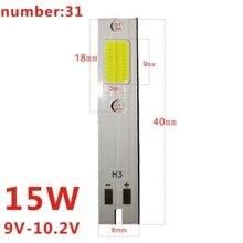 1piezas C6 coche bombillas de faros H1 H3 H7 H11 9005, 9006 de 880 luces LED del coche H4 9004 9007 H13 Hi-Lo haz de estilo del