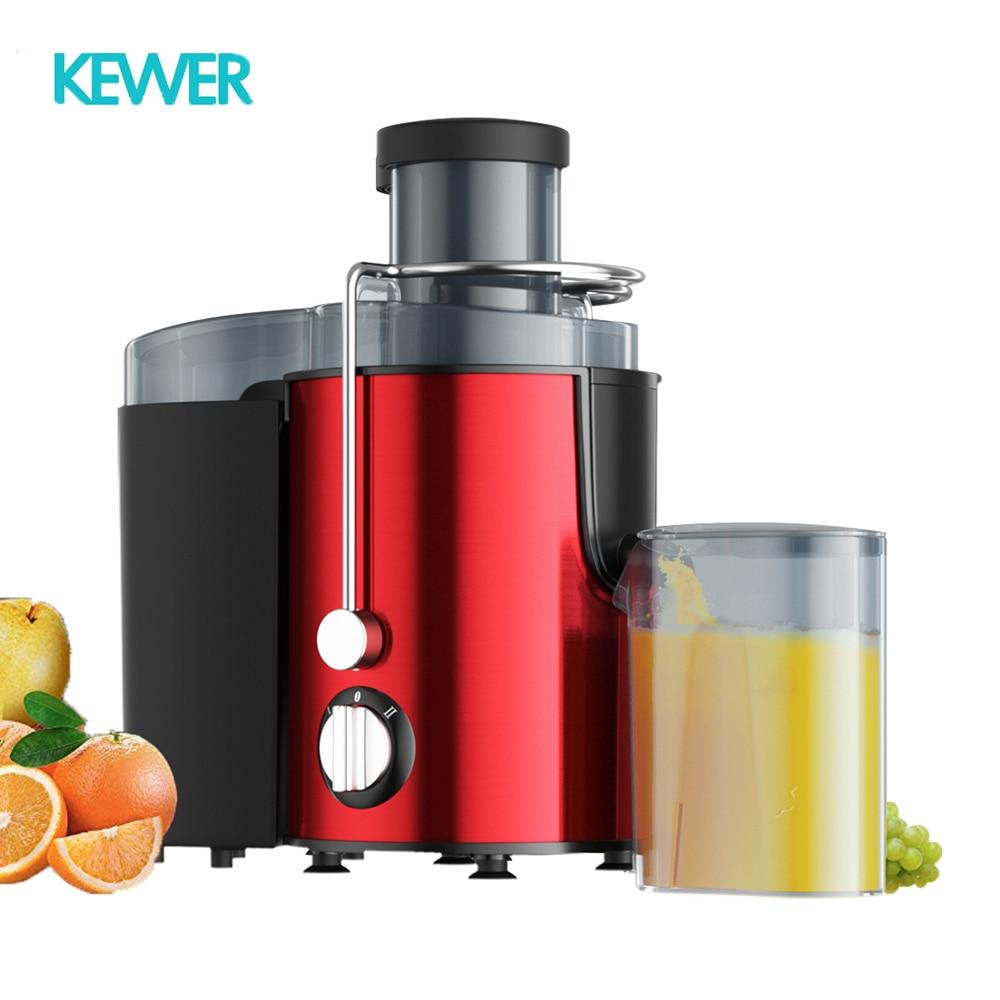 Juicer Home Multifunction Large Diameter Electric Vegetable And Fruit Smoothie Blender Juicer Stainless Steel Juice Extractor