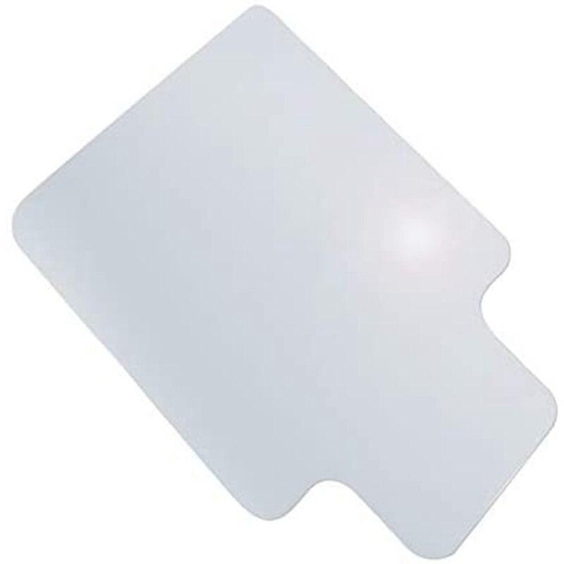 وسادة كرسي أرضية PVC غير قابلة للانزلاق ، واقي سجادة ، 35 × 47 بوصة ، شفافة