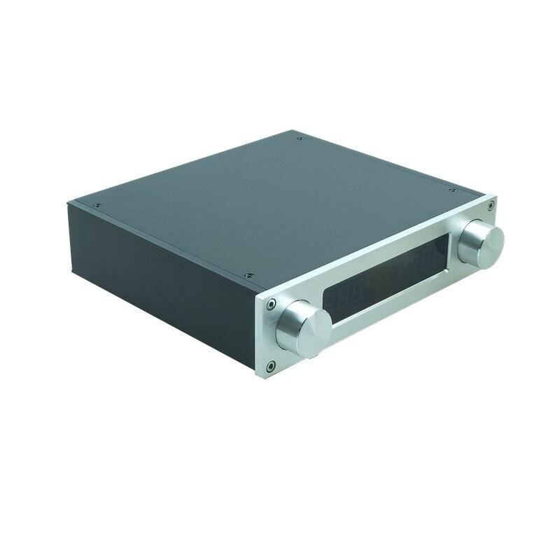 جهاز تحكم في مستوى الصوت عن بعد من Streo مع مكبر صوت ثلاثي النغمات مع مكبر صوت مسبق أمبير HIFI صوت 4 في 1 للخارج لإمبير الطاقة