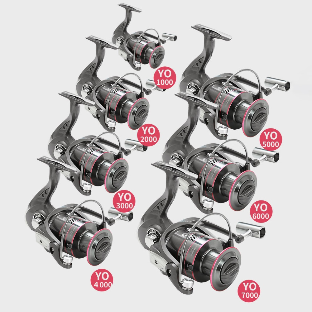 All Metal Fishing Reel 1000-7000 Series Spinning Wheel Sea Rod Fishing Wheel High Hardness Not Easy to Break and Not Deform enlarge