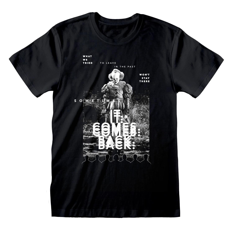 Oficial IT Chapter Two - IT come Back-Camiseta de adultos (hombres/señoras-Unisex) hombres camiseta 2019