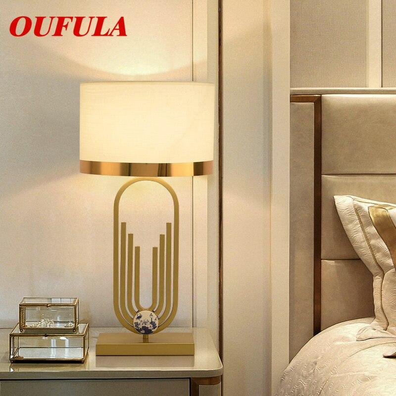 AOSONG الجدول مصباح الحديثة المعاصرة مكتب الإبداعية الديكور النسيج ل بهو غرفة المعيشة السرير غرفة فندق