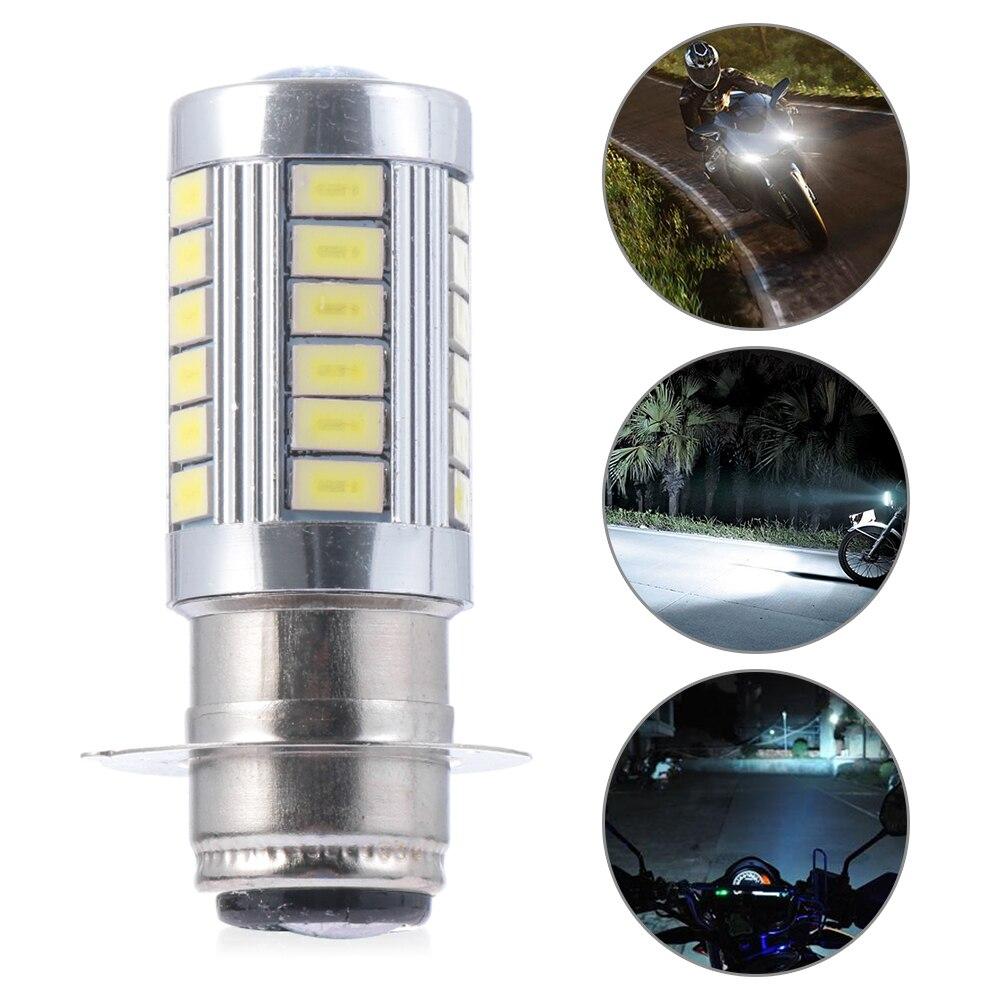 H6 BA20D Motorcycle Headlight Led Bulb Motor Bike Light 33smd White Headlamp Motorcycle Accessories