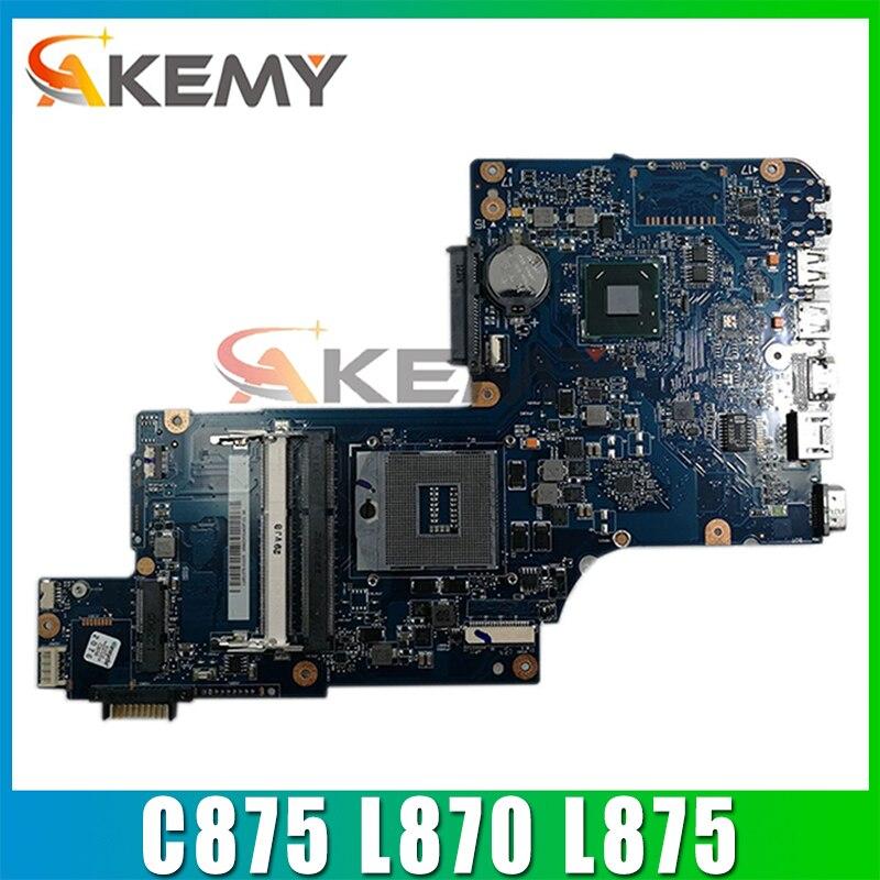 لوحة أم للكمبيوتر المحمول AKEMY H000043520 لكمبيوتر توشيبا C875 L870 L875 إنتل DDR3 17.3 بوصة لوحة رئيسية للشاشة